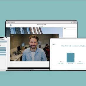 Overzichtelijk en professioneel platform voor elk online event