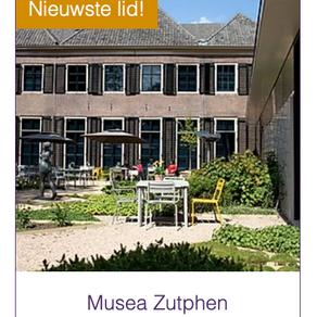 Nieuwste lid: Musea Zutphen