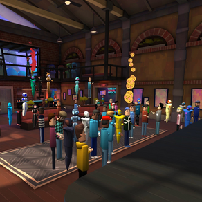 'Live events in virtual reality'