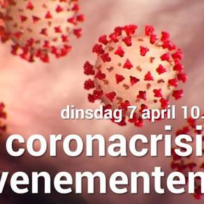 di 7 april: Webinar coronacrisis in de evenementensector