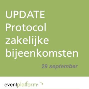 Nieuwe update maatregelen per 29 september