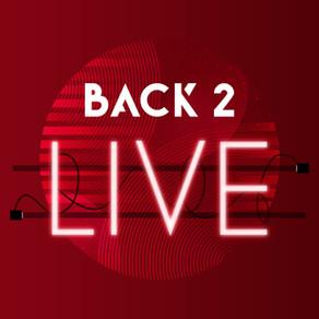 Eerste testevenement 'Back to Live' uitverkocht