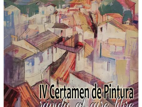 18 abril: IV certamen de pintura rápida al aire libre