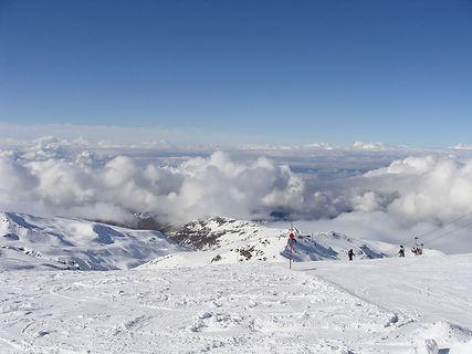 skiing Sierra Nevada, Pradollana