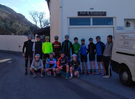 Wonderful week of cycling in Sierra Nevada.