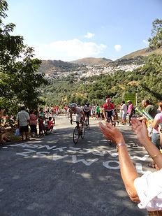 Vuelta de España, la subida al Hazas Llanas