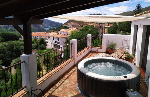 Spa on the terrace
