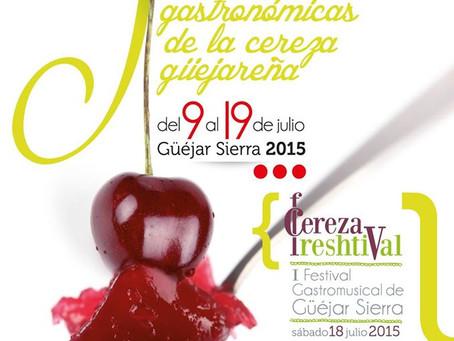 5 Jornadas Gastronómicas de la Cereza Güéjareña