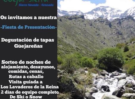 Fiesta de presentación de la Asociacion de Empresarios de Güéjar Sierra