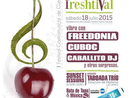 Cereza FRESHtival I - 18 julio 2015