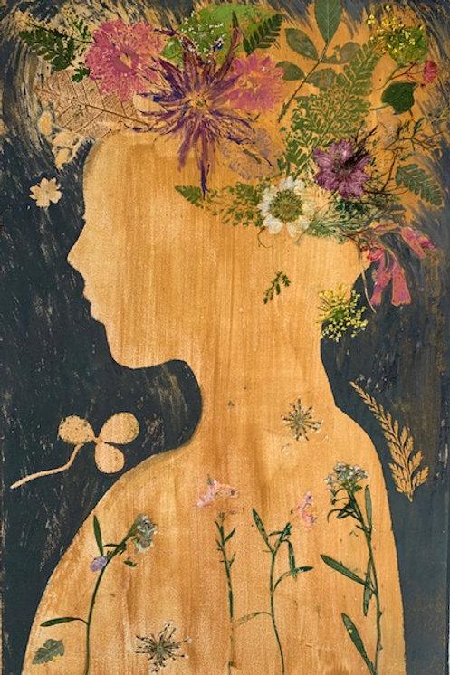 She Blossomed From the Sun II by Melanie Barash Levitt