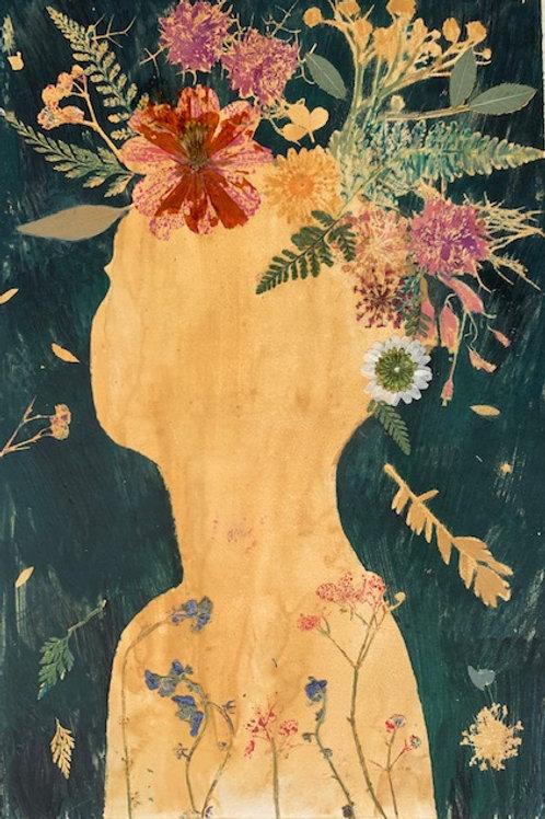 She Blossomed From the Sun I by Melanie Barash Levitt