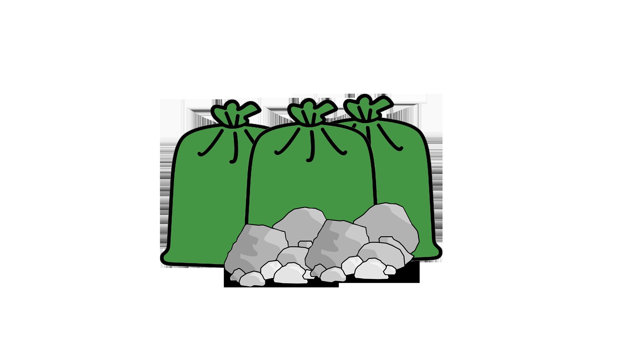 Rubble-Soil-Ceramic 1Ton