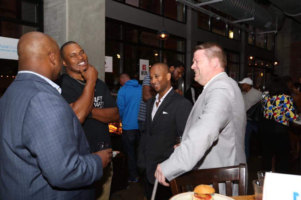 NFL Draft Party Benjamin Galliway The Society for Professional Athletes