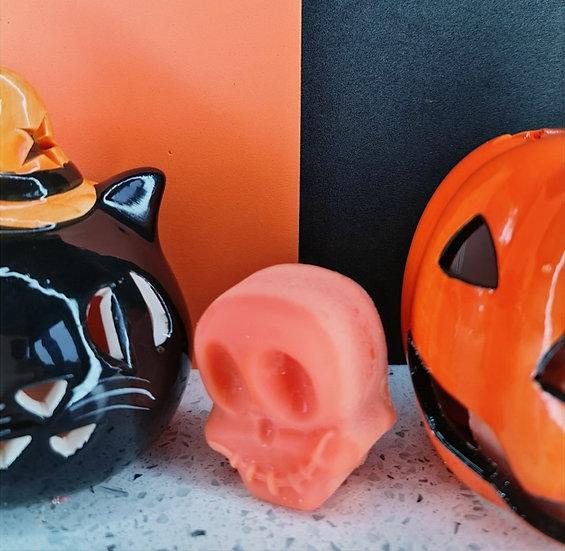 Pumpkin Spice Skull