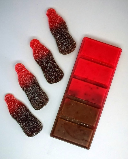 Fizzy Cherry Cola Bottles Large Snap Bar