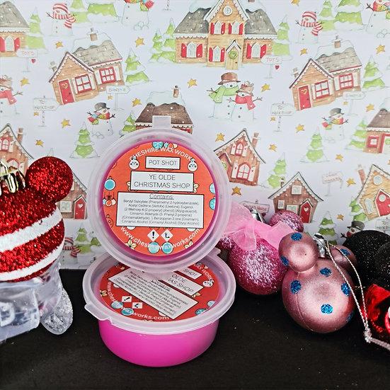Ye Olde Christmas Shop Pot Shot