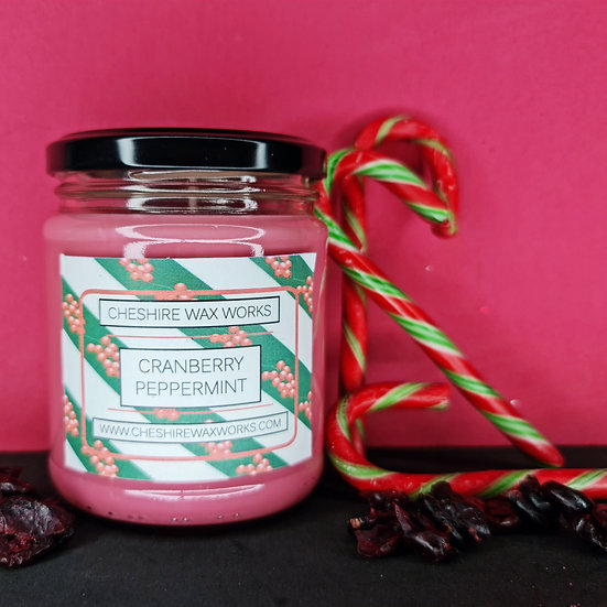Cranberry Peppermint Candle