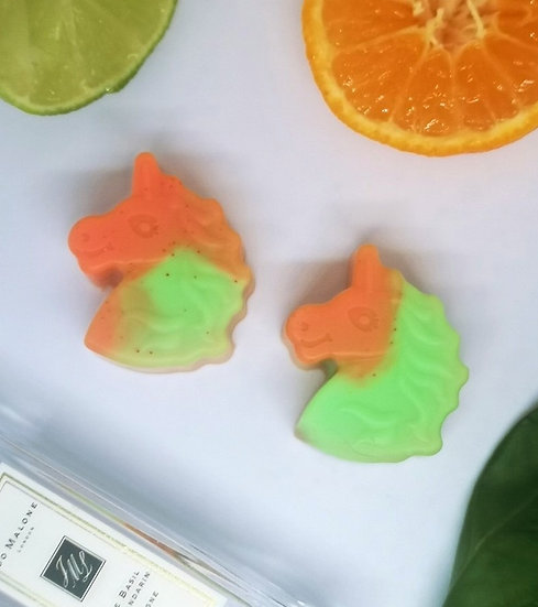 Lime, Basil & Mandarin Unicorns