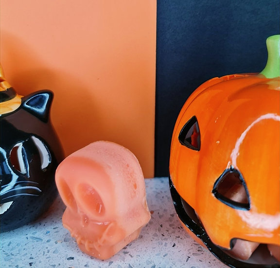 Jack-O-Lantern Skull