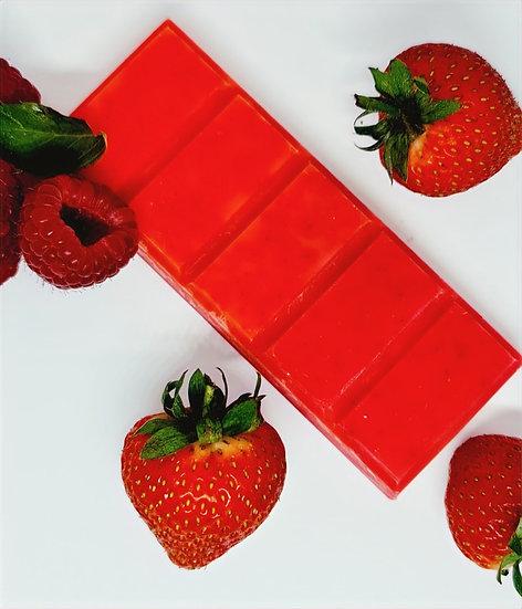 Strawberry & Raspberry Large Snap Bar