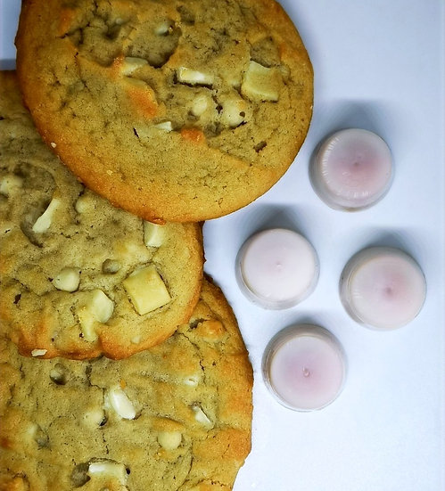 White Chocolate Cookie Domes