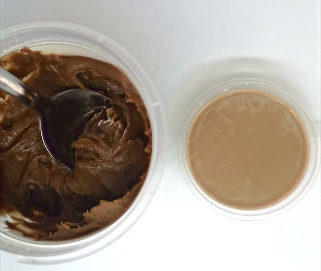 Salted Bourbon Buttercream Pot Shot