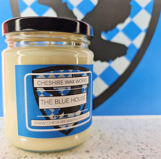 The Blue House Candle