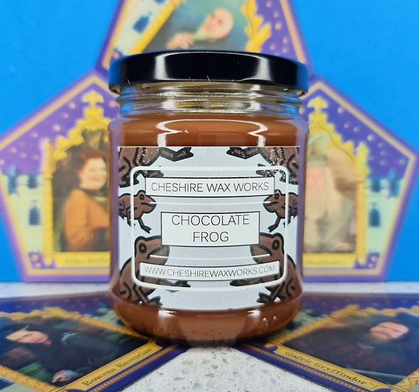 Chocolate Frog Candle