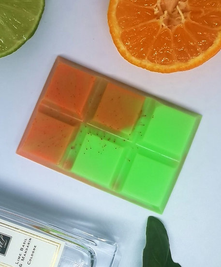 Lime, Basil & Mandarin Small Snap Bar