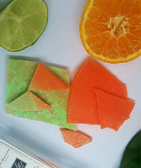 Lime, Basil & Mandarin Brittle
