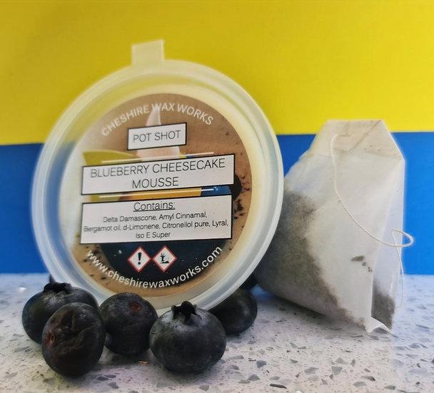 Blueberry Cheesecake Mousse Pot Shot