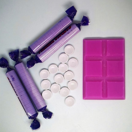 Violet Sweets Small Snap Bar