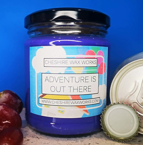 Adventure Is Out There Candle