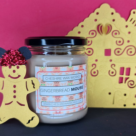 Gingerbread Mouse Candle