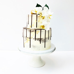 Two Tier Drip & Orchids