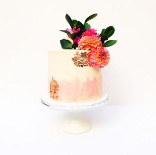 Peach Textured Watercolour