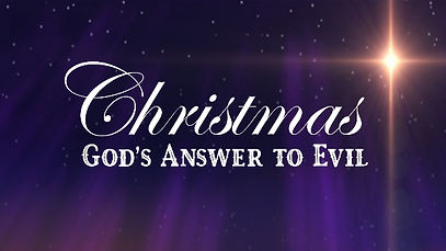 2020 12 20 Christmas - God's Answer to E