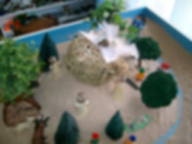 Picture of sandplay