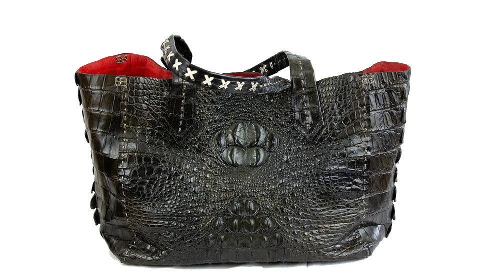 Krokodilleder Hornhaut Shopper
