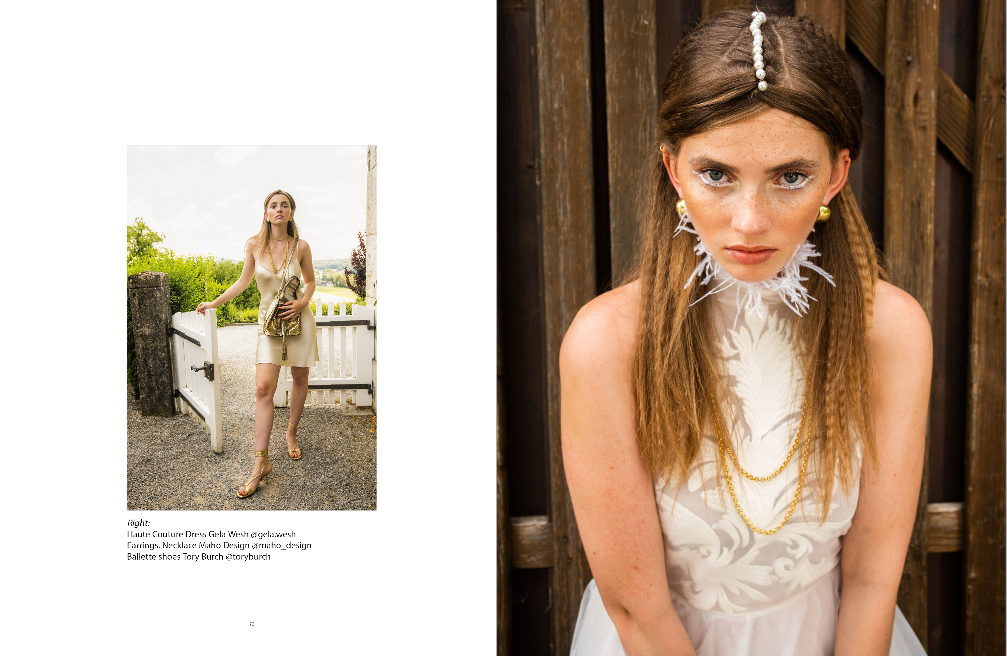 Insiderlook Style Consulting Editorials for FLANELLE MAGAZINE