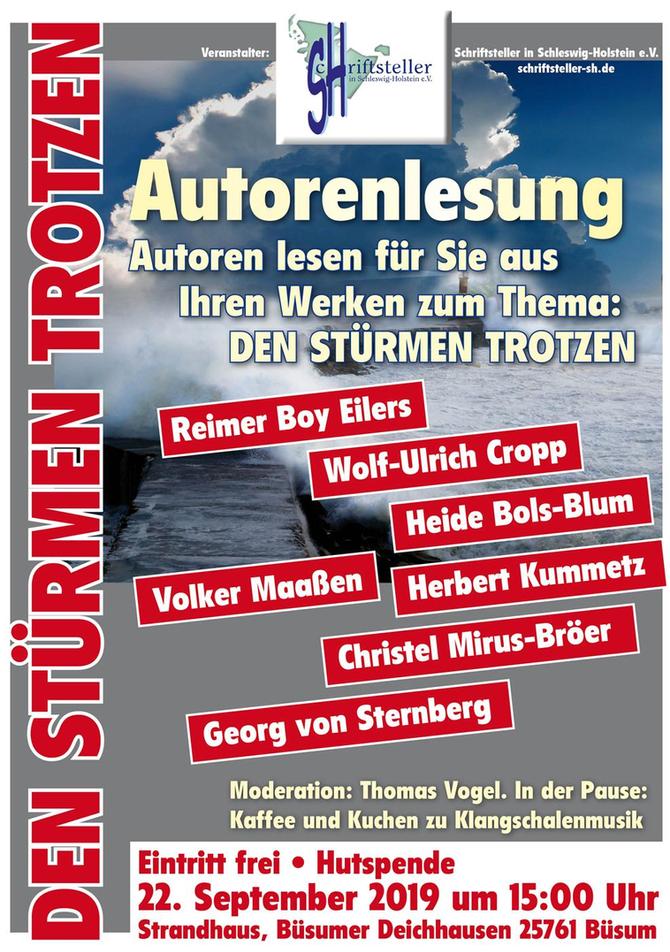 Autorenlesung in Büsum