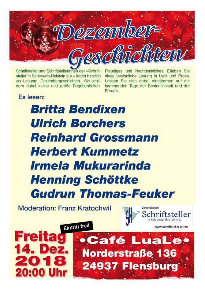 Dezembergeschichten - Mitglieder lesen in Flensburg