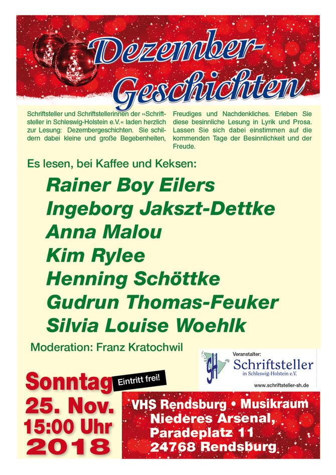 Dezembergeschichten - Mitglieder lesen in Rendsburg