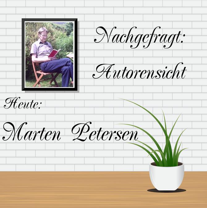 NACHGEFRAGT: AUTORENSICHT - Marten Petersen