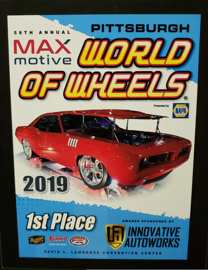 2019 World of Wheels, 1st Place