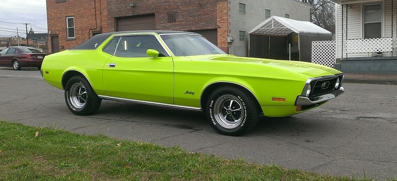 Mustang Respray