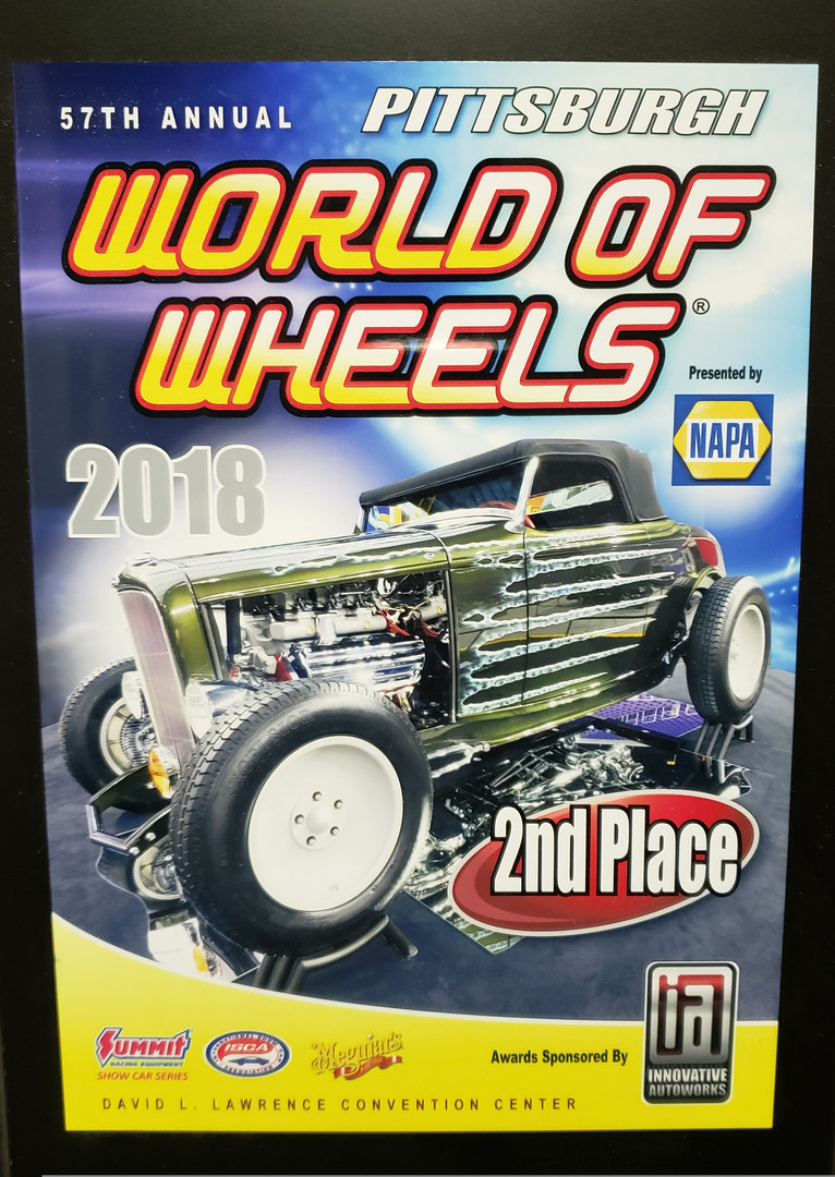 2018 World of Wheels, 2nd Place