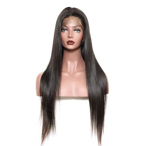 Silky Straight Frontal Lace Wig