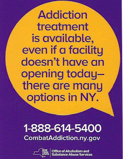 Addiction Treatment is Available  in New York!!!